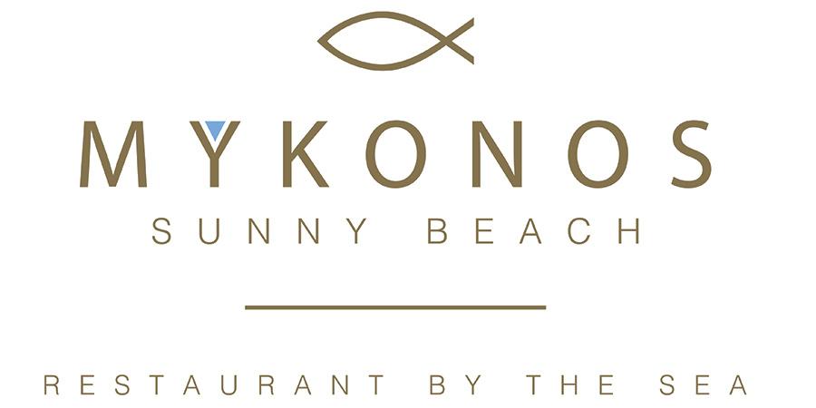 logo mykonos sunny beach